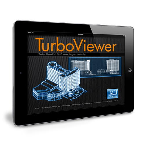 TurboViewer runs smoothly on IPad